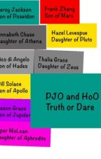 PJO and HoO truth or dare by CateCateByrd