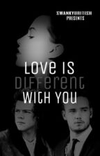 Love is different with you by Taeslutkookie