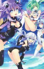 A hero of justice (Hyperdimension Neptunia X Male reader) by Neptune590