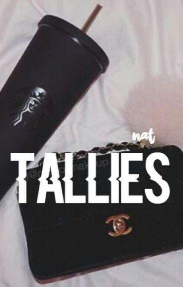 tallies ➸ m.e