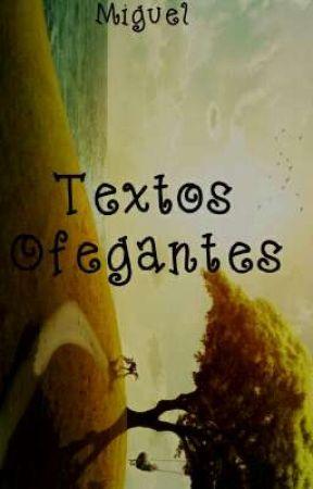 Textos Ofegantes by wanderson_miguel