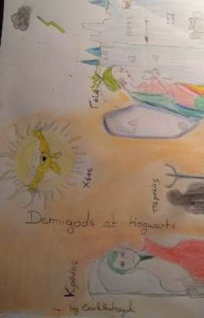 Demigods at Hogwarts (Livre 1 ) [Traduction] by Nina13122003