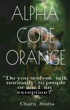 Alpha Code Orange by charu_smita