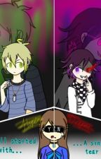 It All Started By One Single Tear (Rantaro x reader x YandereMastermind Kokichi) by CRUSIFIXdroid