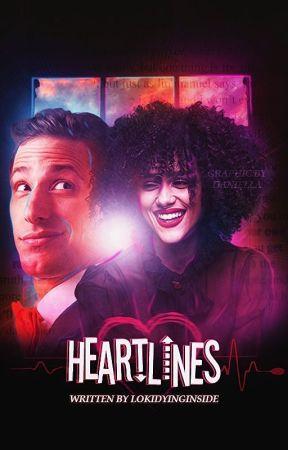 Heartlines   Jake Peralta by lokidyinginside