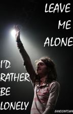 Leave Me Alone; I'd Rather Be Lonely // Derek Sanders by bandsintown