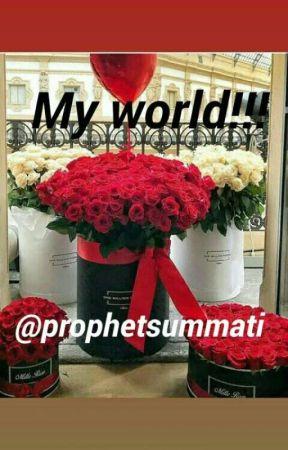My World!!!  by prophetsummati