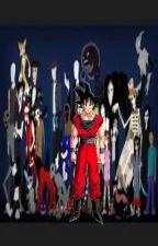 Goku Criado por Creepypastas y Slasher by BillCiphereldios