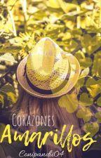 Corazones Amarillos  by Conipandii04