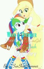 When a Stranger Meets The Cowgirl | An AppleDash Story [COMPLETED] by JessTheAlpha