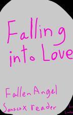 Falling into Love: Fallen Angel Sanses x reader by LionheartTU
