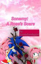 Sonamy: A Rose's Scars🌹💔 by SandyDandygUrl