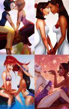 Princesas Disney | Lesbian by darkwomanlgbt