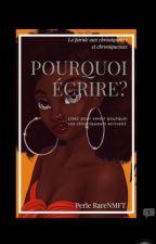 Pourquoi écrire :la Parole Aux Chroniqueurs (Euses) by Perle-rare-NMFT