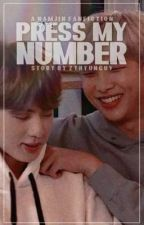 Wrong Number   N A M J I N by twinkle__taes_