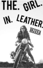 The Girl in Leather by 18gooda