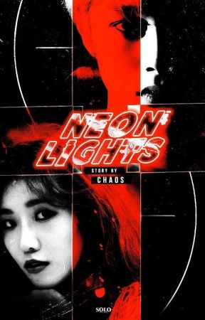 Neon Lights | Hyungwon  by chaoswu