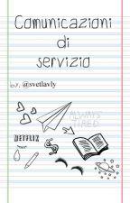 COMUNICAZIONI DI SERVIZIO by svetlavly