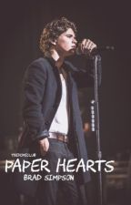 Paper hearts  ➔  Brad Simpson by ZacharoniHerron
