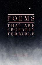 Poems by hopelesswritingmajor