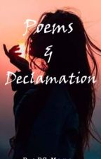 Poems and Declamation Pieces by BS_Momo