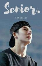senior; kim hanbin by mykoojune