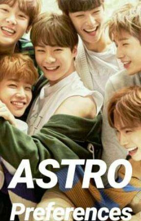 ASTRO Preferences - [He Calls You Cute/Adorable] - Wattpad