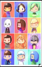 Ask or Dare the Glitchtale Characters by 26qbui