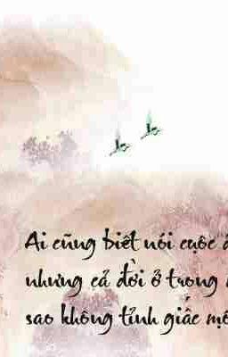 Đọc truyện Từ Hải và Kiều- Tỉnh mộng Nam Kha