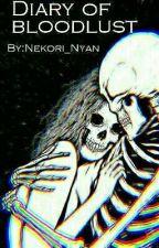 Diary Of Bloodlust || Hamilton Vampire AU by Nekori_Nyan