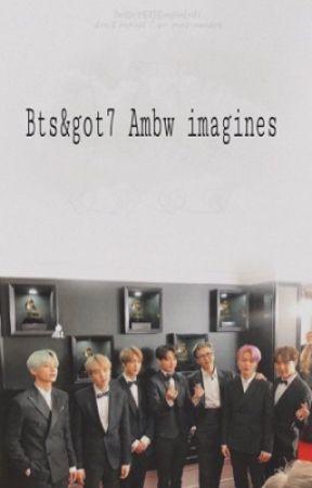Bts&got7 ambw imagines - Bts: when your giving birth to
