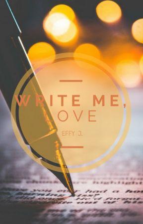 Write me, love... by Effy_J