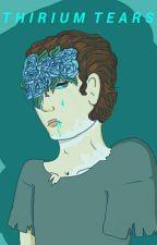 thirium tears //Hannor AU book by Sunflower_duckling