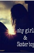 the shy girl and the skater boy by nallely_music