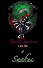 Death Sparrow in the den of snakes by LillianaDD