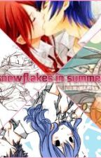 Snowflakes in Summer (Jerza, Nalu, Gale, and Gruvia) by ShadowDragon102