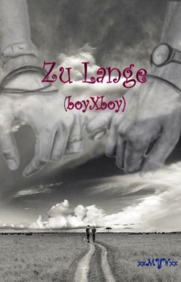 Zu Lange (boyxboy)