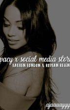 privacy x social media stories ( lauren london x roman reigns )  by Ajaaaayyyy__