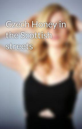 Czech Honey in the Scottish streets by verulavickova