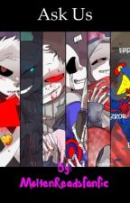 Ask/dare the evil gang! (Nightmare, Error, horror, killer, dust and cross) by MoltenReadsFanFic