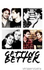 getting better :: muke texting by shipperstydia