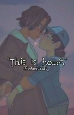 """This Is Home."" [TWD: Game // Louis X Clementine] by Veronicah_"