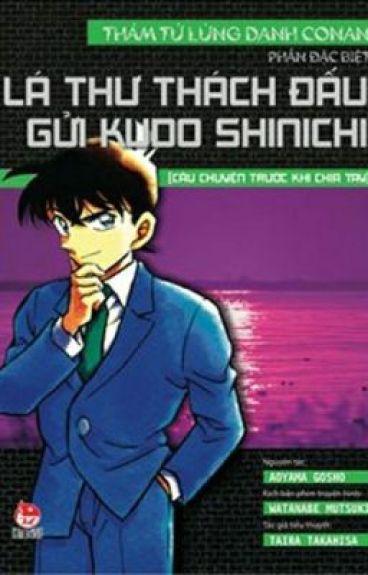 Tiểu Thuyết Conan: Phần đặc biệt - Lá thư thách đấu gửi Kudo Shinichi