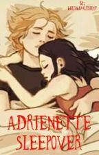 Adrienette Sleepover  by willowvalerie17
