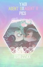 ♥➳Yaoi ♂Agent 3 Ⓧ ♂Agent 8 Pictures ➳♥ by Shezzaki-chan