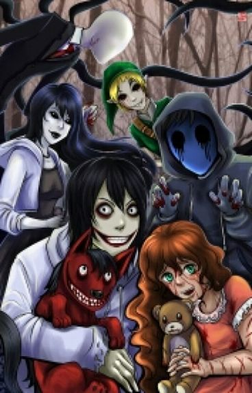 Jeff the killer x Slendermans daughter!Reader - crimson ...