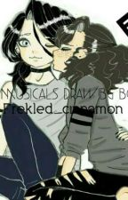My Musicals Drawing Book! by Cinnamon_Laurens