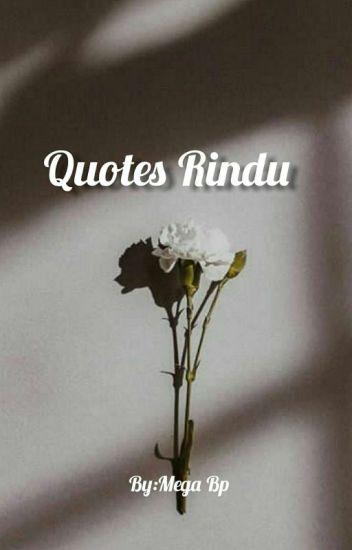 quotes rindu mega putri wattpad