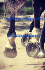 Guide To Riding A Horse by lifelongstories657