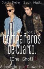 Compañeros de cuarto [Hot] {One shot} |Justin, Zayn y tú| by Druwstiin